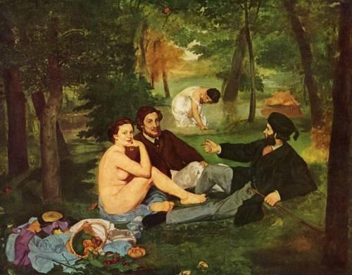 Эдуард Мане. Завтрак на траве